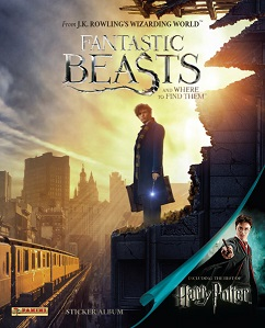 Fantastic Beasts and Where to Find Them Sticker Collection swaps