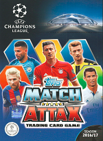 Match Attax UEFA Champions League 2016-2017 swaps