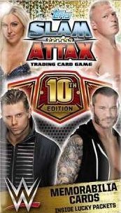 Slam Attax 10th Edition Trading Card Game swaps
