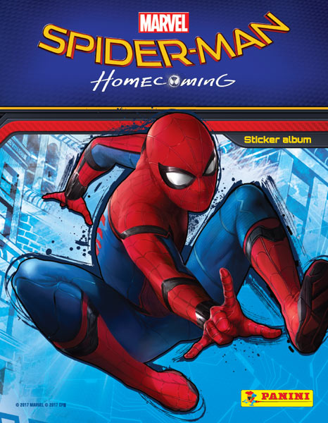 Spider-Man Homecoming Sticker Collection swaps