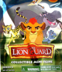 The Lion Guard Collectible Mini Figures Series 2 swaps