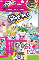 Topps Shopkins Sticker Collection 2016 swaps